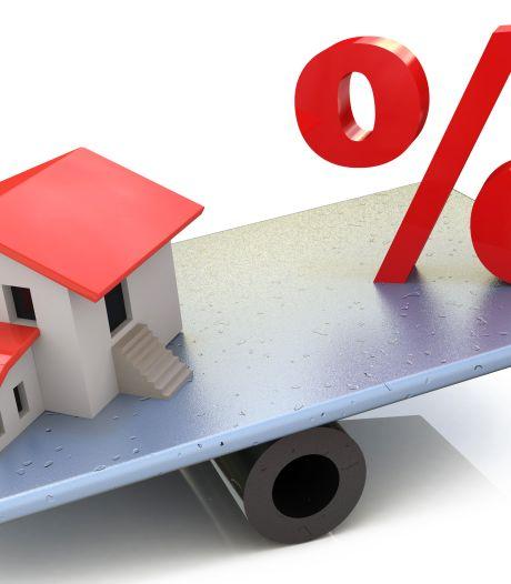 Hypotheekrente voor het eerst in half jaar omlaag