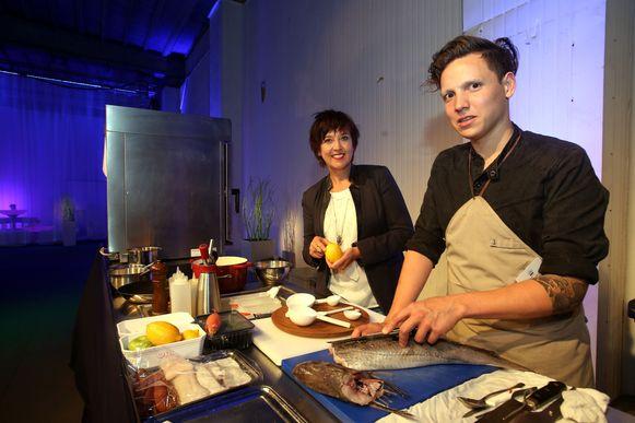 Ook chef-kok Syrco Bakker van restaurant Pure C zal komen koken.