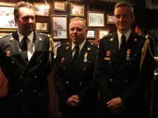 Brandweervrijwilligers Henny ten Els en Rob Dimmendaal koninklijk onderscheiden