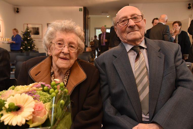 Platina bruiloft Armand De Wandel en Yvonna De Fré vieren hun 70ste huwelijksverjaardag.