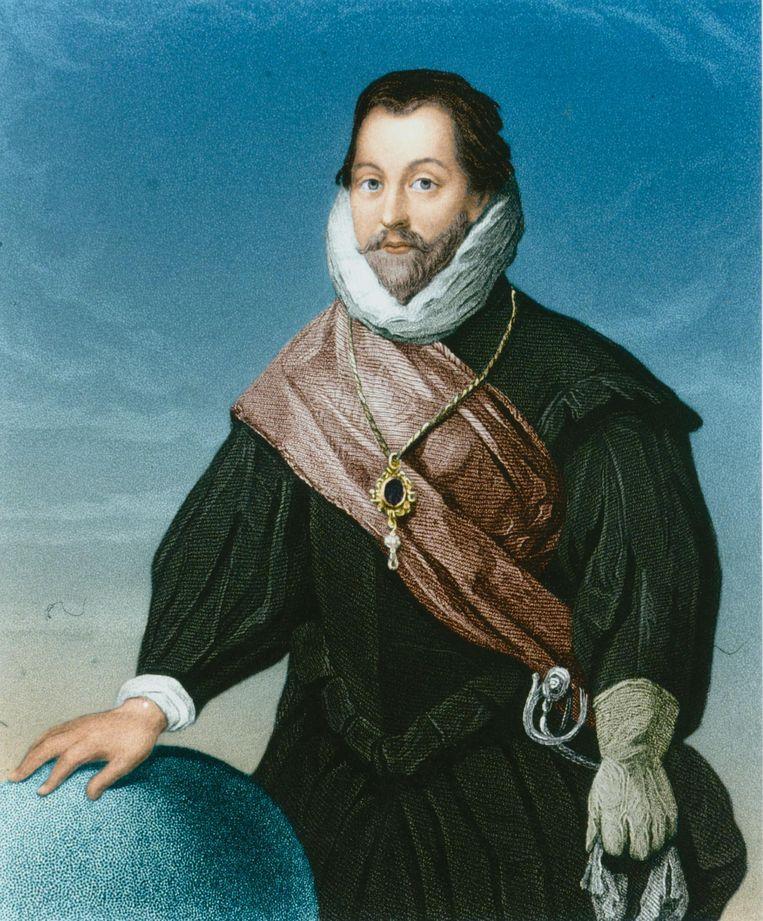 Francis Drake, ca. 1585. Beeld getty