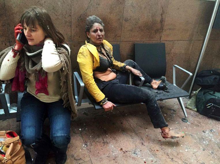 De foto van de Indiase stewardessging na de aanslag op de luchthaven van Zaventem de wereld rond.