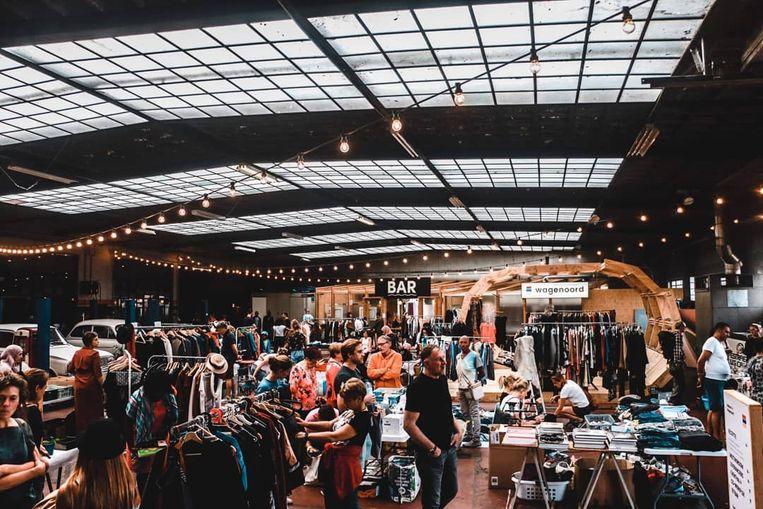 De offline rommelmarkt in Wagenoord kan vandaag niet doorgaan, dus wordt hij online georganiseerd.