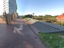 Straks ook een zebrapad bovenaan de Leeuwentrap