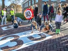 Legitiem scheuren en slippen op de Melkmarkt in Zwolle
