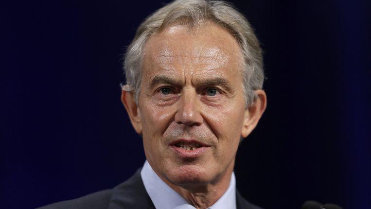 De Britse ex-premier, Tony Blair. Beeld ap