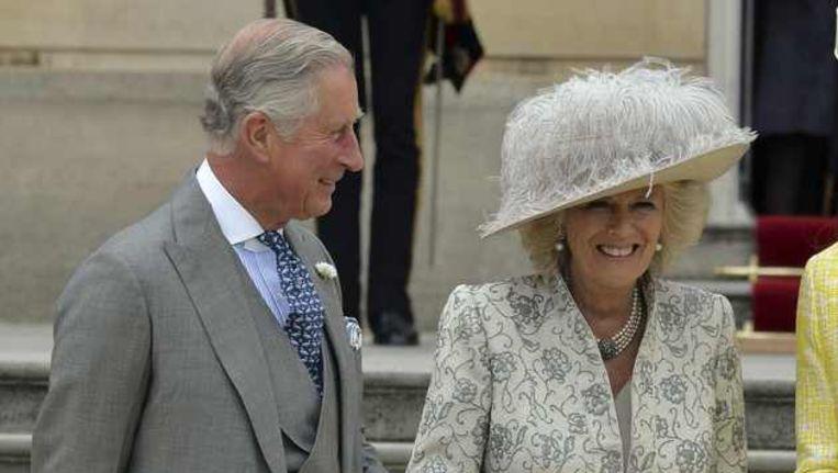 Kroonprins Charles en echtgenote Camilla. Beeld reuters