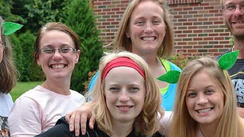 Les quatre soeurs décédées: Allison King (à gauche), Mary Dyson (au milieu à l'arrière-plan), Abby Jackson (au milieu à l'avant-plan) et Amy Steenburg (à droite).