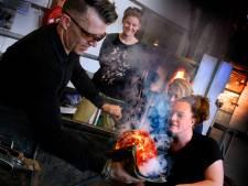 Glasblazerij in Leerdam weer in bedrijf na lockdown van 111 dagen