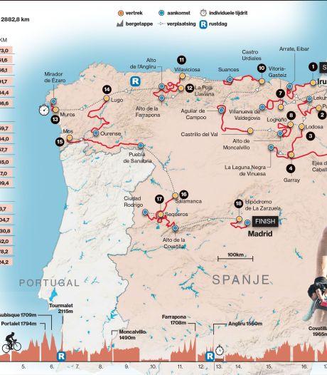 Strijd om het rood gelijk van start in Vuelta met serieuze aankomst bergop