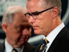 Adjunct-directeur FBI twee dagen voor pensioen ontslagen