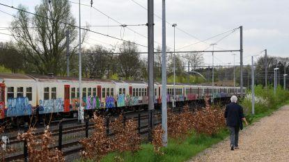 Acht maanden met uitstel voor graffiti op treinwagons