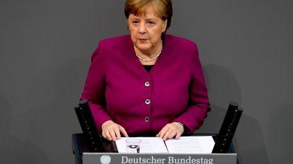 """Merkel is het niet eens met aanpak van alle deelstaten: """"Duitsland zit nog aan begin van pandemie"""""""