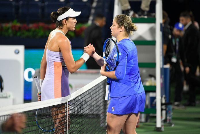 Kim Clijsters a poussé la récente finaliste de l'Open d'Australie dans ses derniers retranchements.