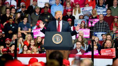 Rush op laatste campagnedag: Trump bezoekt nog snel drie staten