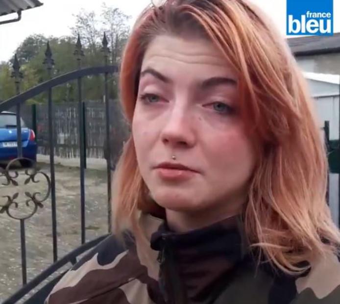 Stella Guitton a trouvé le courage d'apporter son témoignage au micro de France Bleu Alsace