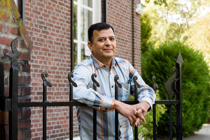 Irakees Azeez vluchtte voor het gevaar in zijn land en belandde in Eindhoven.