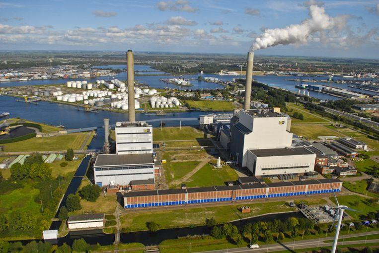 De Nuon energiecentrale in het Westelijk Havengebied. FOTO ANP/Erik van 't Woud Beeld