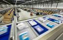 Een van de sorteercentra van postbedrijf Sandd.
