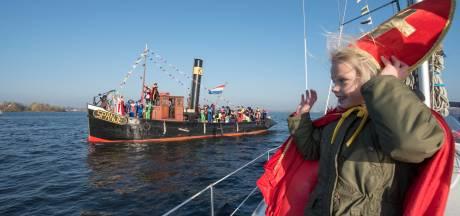 Sinterklaas blij met nieuwe intocht in Harderwijk