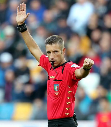 Massa scheidsrechter bij duel Oranje met Estland