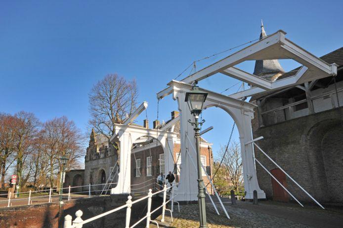 De Zuid- en Noordhavenpoort in Zierikzee.