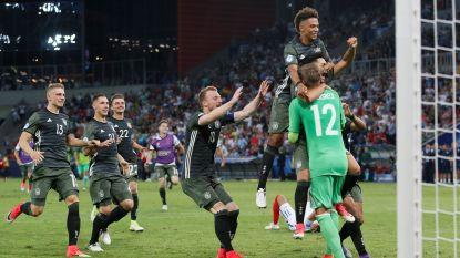 Duitsland en Spanje spelen finale EK U21