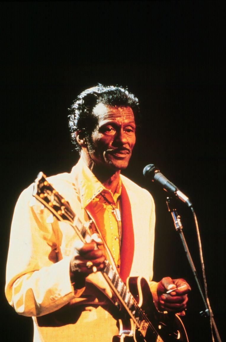 Chuck Berry. Beeld ANP Kippa