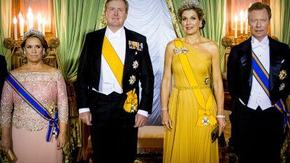 Koningin Máxima draagt diamanten diadeem die meer dan 45 jaar in de koninklijke kluis lag