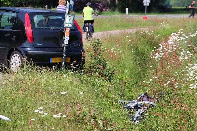 Het ongeval gebeurde op klaarlichte dag