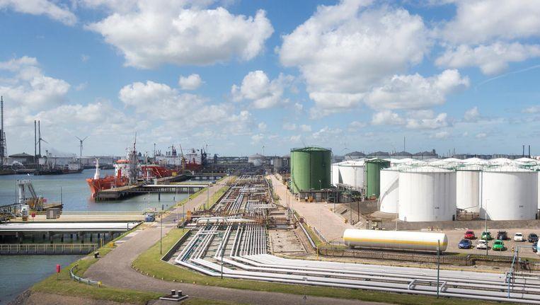 Vopak Terminal Botlek Storage Facility in de Rotterdamse haven Beeld anp
