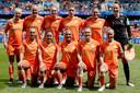Het Nederlands elftal.