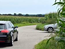 Hoge maïswallen in Agelo ontnemen zicht op kruisingen van wegen