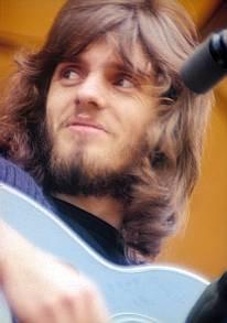 Iain Matthews tijdens een concert met Matthews Southern Comfort in 1969.