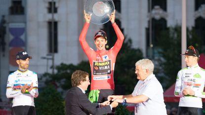 De winnaars van de laatste speeldag én de eindwinnaars van de Gouden Vuelta