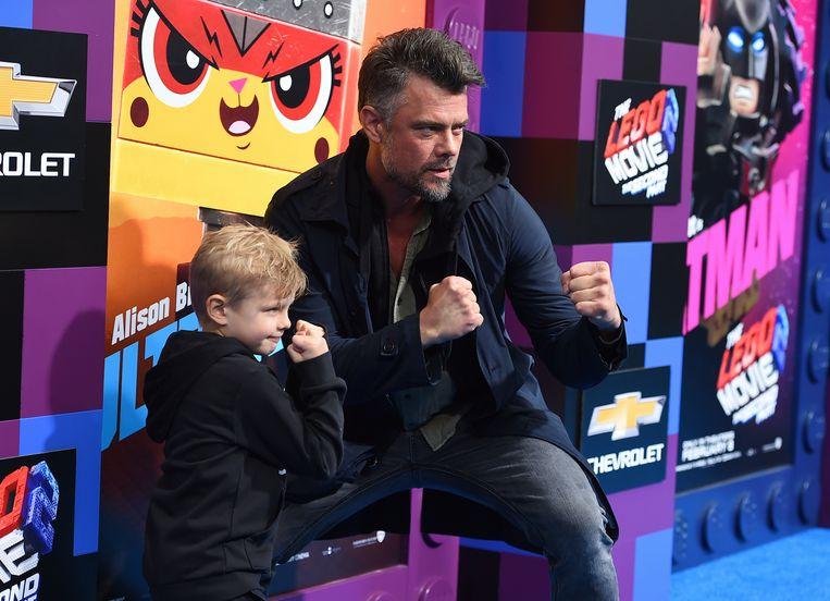 Josh Duhamel en zijn zoontje, Axl.