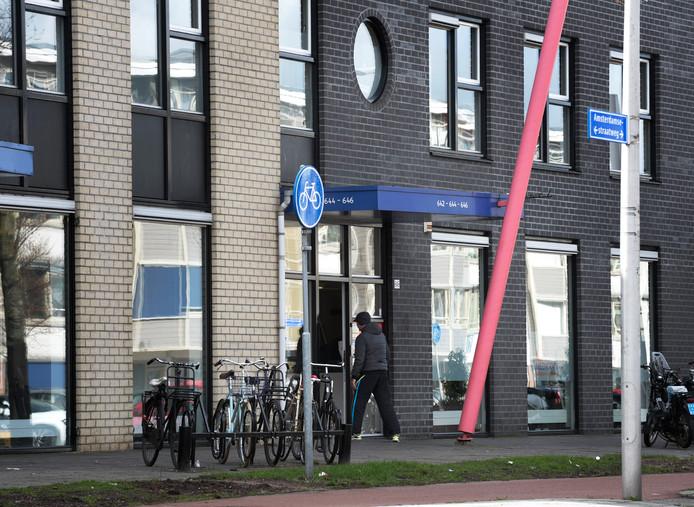 IUtrecht - Het pand aan de ASW waarin Dolia Zorg gevestigd is, het bedrijf van de twee met PGB frauderende broers (Foto Marnix Schmidt)