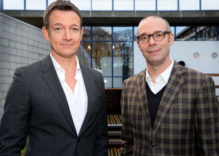 Paul Groot (L) en Owen Schumacher. Beeld anp