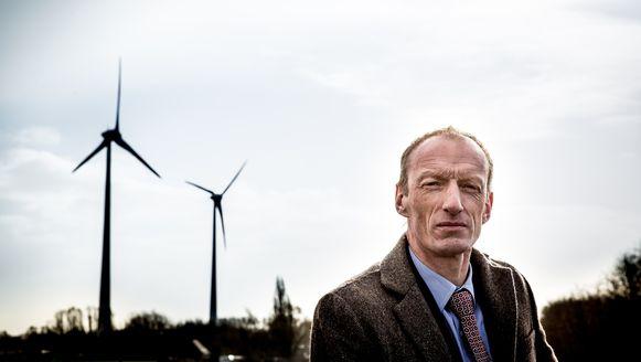 Rik Van de Walle, CEO van Aspiravi NV, dat investeert in twee windmolenparken in Curaçao.