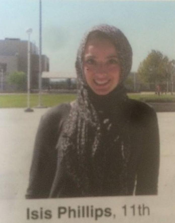 De foto van Bayan in het jaarboek