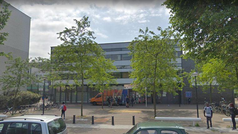 De basisschool Olympus op IJburg Beeld Google Streetview
