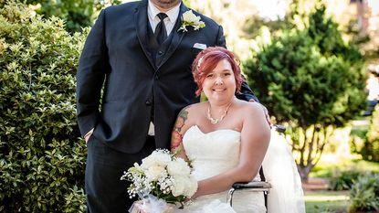 Ziekenhuis geeft patiënte haar droomhuwelijk, voor het te laat is