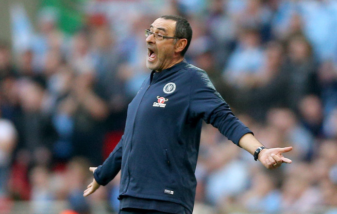 File photo dated 24-02-2019 of Chelsea manager Maurizio Sarri.