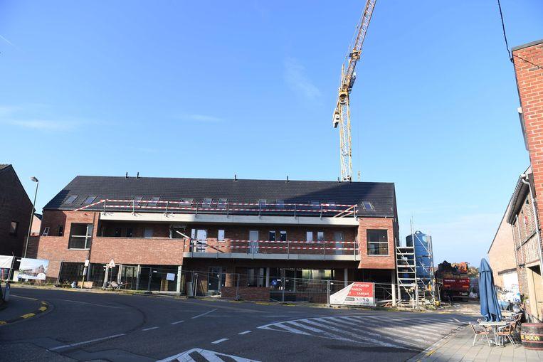 Het nieuwe wooncomplex in centrum Haasrode.