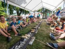 Lekker spelen en eten tijdens de kindervakantieweek in Rilland
