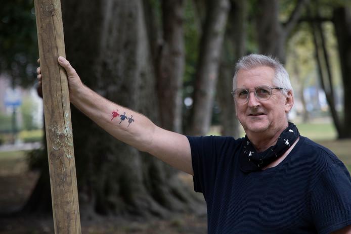 Riks Werts is de drijvende kracht achter het Vogelverschrikkerfestival.