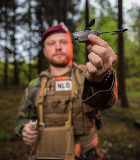 Muisstille libelle-drone redt levens militairen