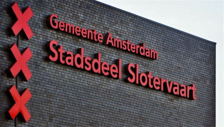 De halvering van de stadsdelen voltrekt zich vooral in het westen van Amsterdam. Slotervaart, Osdorp en Geuzenveld vormen vanaf 1 mei 2010 Nieuw West. Foto ANP Beeld