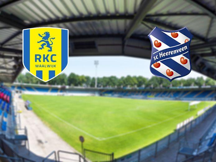 RKC Waalwijk - SC Heerenveen.