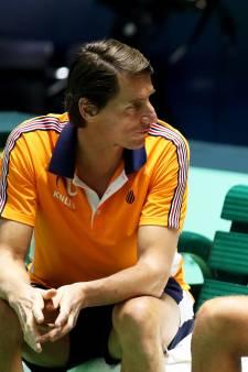 Davis Cup-captain Haarhuis: Het ging als een nachtkaars uit